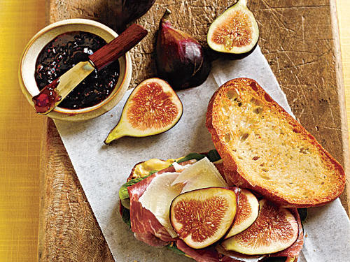 Prosciutto, Fresh Fig, and Manchego Sandwiches Recipes