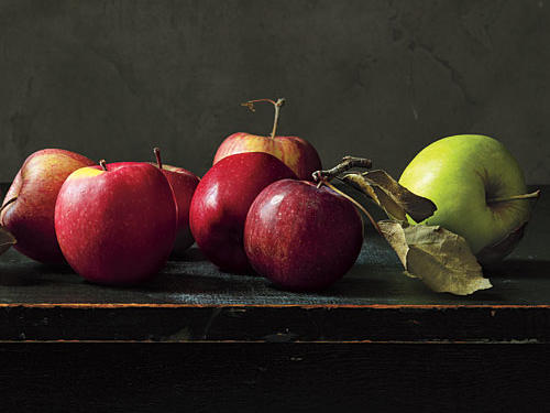 "Quercetin, an antioxidant in the peel of many apple varieties, provides some protection from the ""burning"" UVB rays that can trigger skin cancer. For the biggest quercetin concentration, look for Cortland, Golden Delicious, and Monroe varieties. Don't miss out on Our Best Apple Recipes."