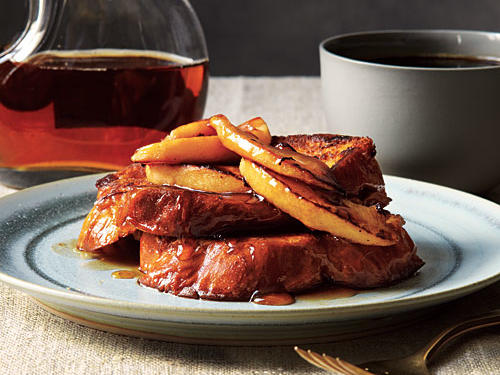 French Toast with Maple-Apple Compote Recipe