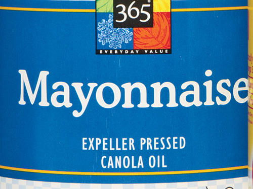 Whole Foods 365 Everyday Value Canola Mayonnaise