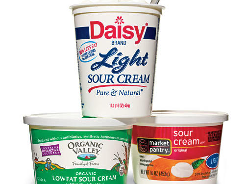 Best Light Sour Cream
