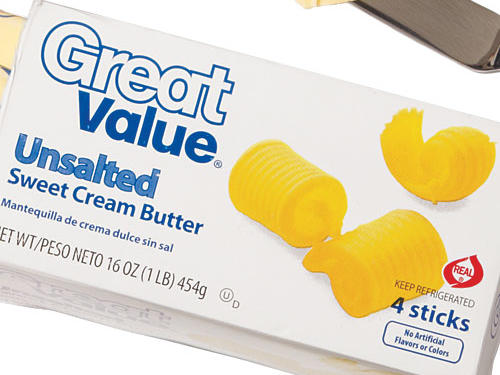 Walmart Great Value Unsalted Butter