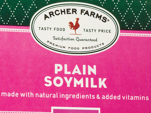 Target Archer Farms Plain Soy Milk