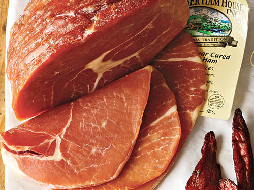 Turner Ham House Country Ham (from $3/lb). You can order beautiful sugar-cured hams from this Shenandoah Valley company, which is more than 35 years old. When thinly sliced, the ham has a deliciously prosciutto-like texture and flavor—sweet, caramel notes balanced by just the right amount of salt.