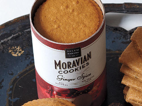 Salem Baking Co's Ginger Spice Moravian Cookies