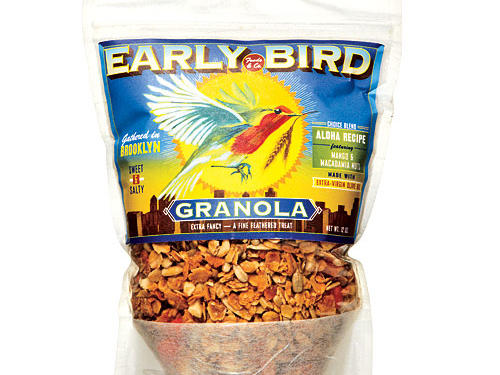Early Bird Aloha Recipe Granola