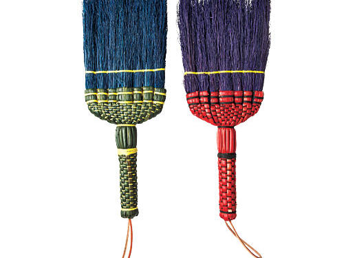 Little messes deserve little brooms. Sweep Dreams' colorful wee whisks can make fast work of spilt sugar.Price: $13Shop: Sweep Dreams