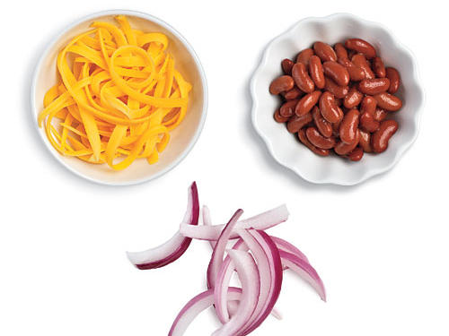 Chili-Style Low-Calorie Potato Toppings