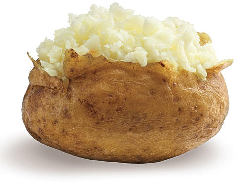A Quick Trick for Baked Potatoes