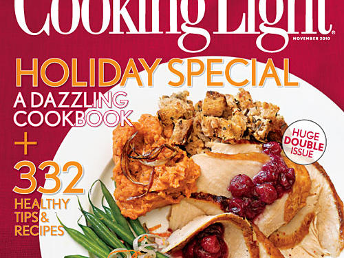 Cooking Light November 2010 Cover