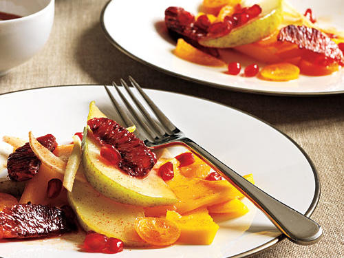 Serve with Winter Jeweled Fruit Salad