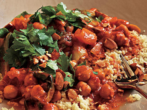 Spicy Moroccan Chickpeas Recipes