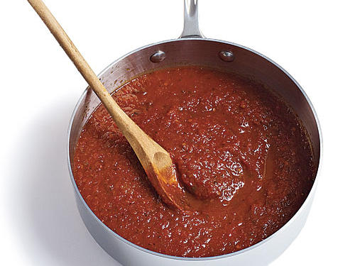 Slow roasting concentrates the flavor in the tomatoes, making for a much heartier and somewhat thicker sauce (learn how to make this marinara). Freeze the sauce in pint containers for up to six months.