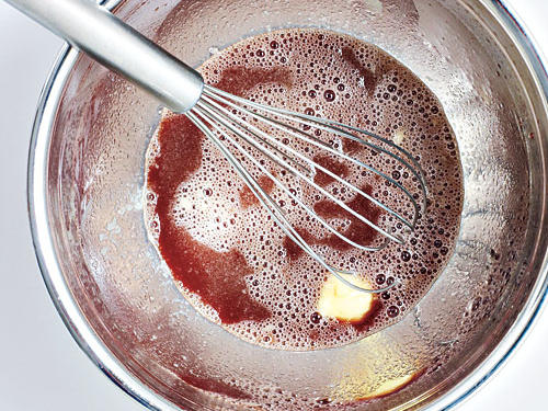 Whisk Butter into Sauce