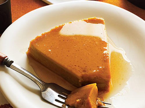 Flan from Leftover Sweet Potato