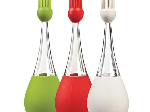 iSi Basics Silicone Standing Baster with Brush