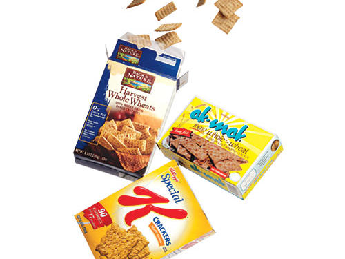 Best Whole-Wheat Crackers Brands: Back to Nature, Ak-Mak, and Kellogg's