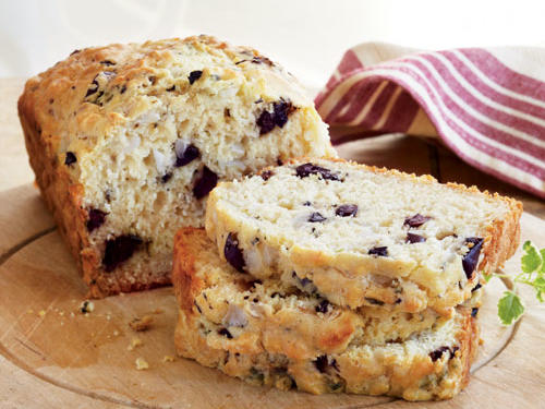 Kalamata Olive Bread with Oregano Recipe