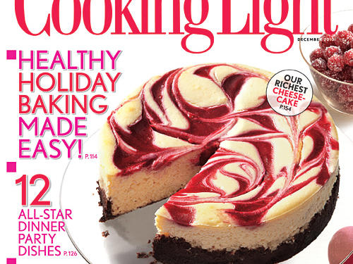 Cooking Light December 2010 Cover