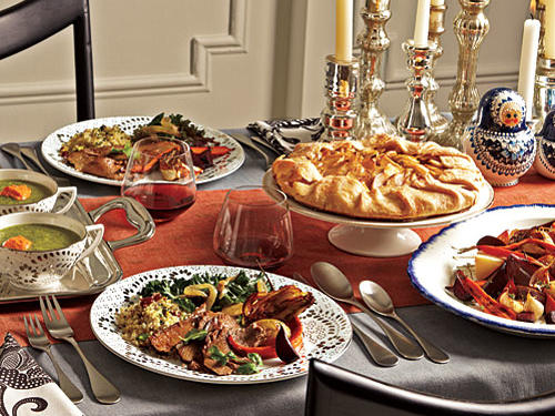 Hanukkah Menus - Cooking Light