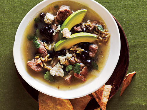Pork and Wild Rice Soup Whole-Grain Recipe