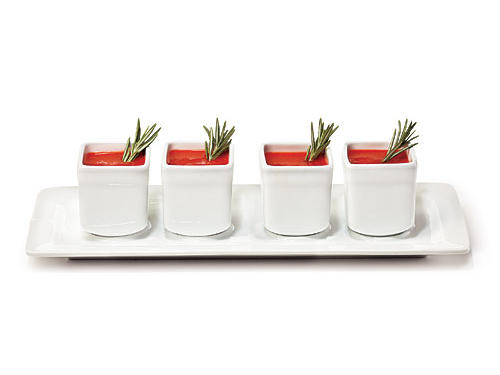 Pier 1 Imports White Porcelain Sampler Set