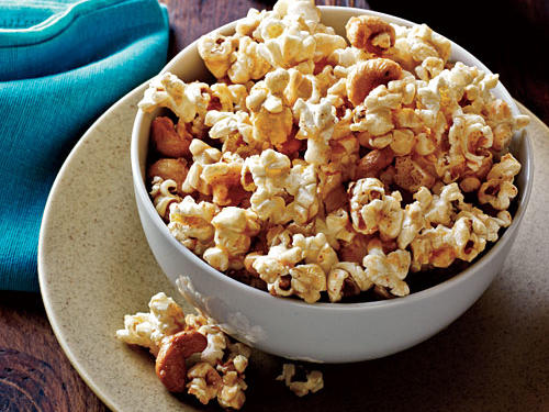 What would a red carpet viewing party be without the official snack of the big screen? For a more kid-friendly version, omit the ground red pepper. Store in an airtight container for up to two days.