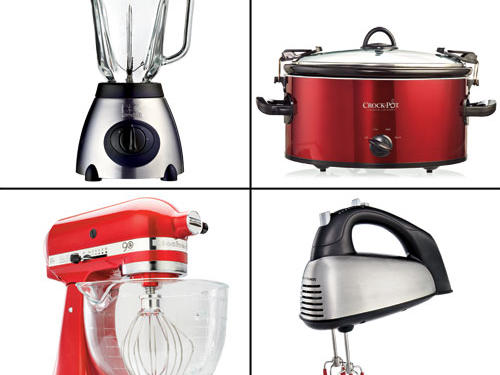 Bright and shiny new hardware for kitchen countertops has arrived. Our editors' favorite small appliances are too beautiful to keep under wraps for very long.