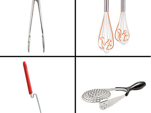 Pass up the opportunity to scramble an egg with a squirrel-shaped whisk? Never.