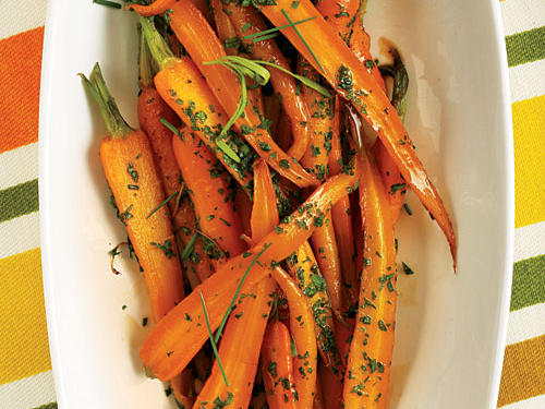 Herb-Glazed Carrots