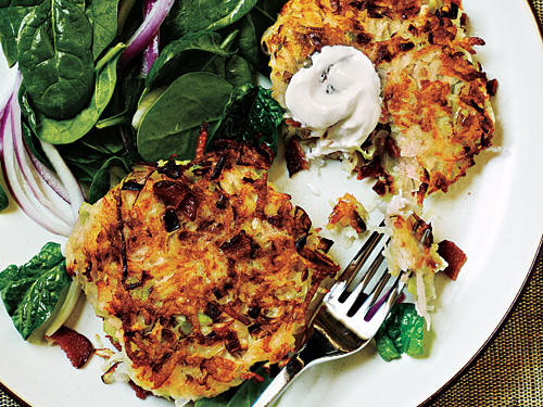 Smoky Potato Pancakes Recipe