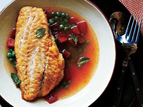 This recipe pulls together in a flash with a short grocery list to boot. To make this meal a sustainable choice, look for Hawaiian gray snapper or Northwest Hawaiian ruby snapper at the seafood counter.