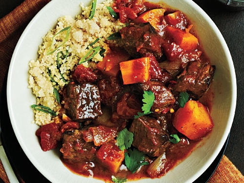 Beef Tagine with Butternut Squash Comfort Food Recipe