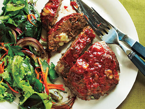 Cheesy Meat Loaf Minis Healthy Recipe