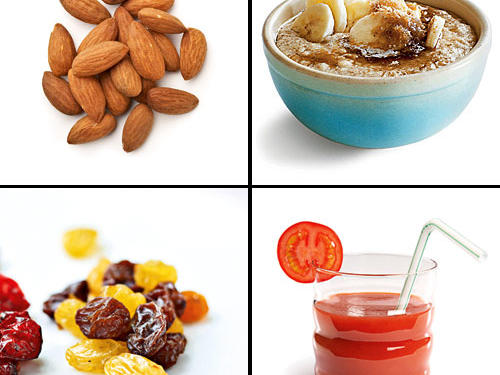 10 Foods and Drinks for Exercising