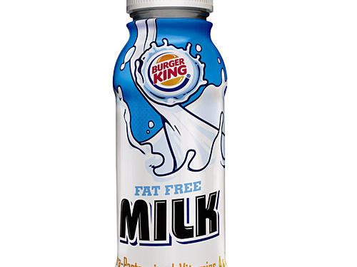 Burger King – Fat Free Milk