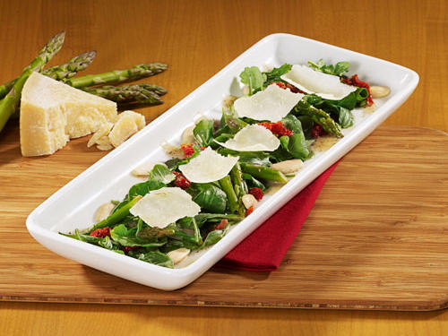 California Pizza Kitchen: Asparagus & Arugula Salad
