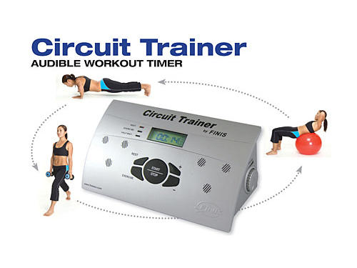 15. FINIS's Circuit Trainer ($129.99; finisinc.com)Why we like it: Doing a circuit training program—where you race from exercise to exercise with little to no rest in between—is one of the most effective ways to build lean muscle and burn fat. The problem is having to watch the clock all the time and doing the math to know when to move onto the next exercise. This lightweight, water-resistant workout timer lets you program in two time periods (how long you want to do each exercise for and how long you want to rest in between exercises). As you work out, a horn lets you know when to move to the next station and rest—and when it's time to start exercising again—so all you have to do is sweat (and not think!).
