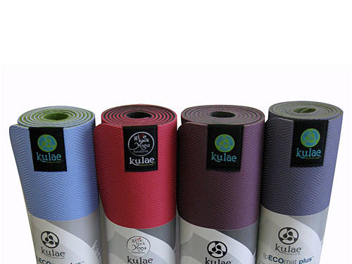 5. Kulae tpECOmat Plus ($49; kulae.com)Why we like it: This comfy eco-friendly yoga mat has many of the benefits you might expect from being 100% biodegradable, latex-free to prevent allergic reactions, and sporting a germ- and bacteria-resistant surface (so it always smells fresh). But what makes this mat a cut above others on the market is the simple fact that it's also four inches longer than a standard yoga mat—making it ideal for bodies of all sizes.
