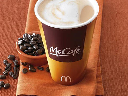 McDonald's Small Nonfat Latte