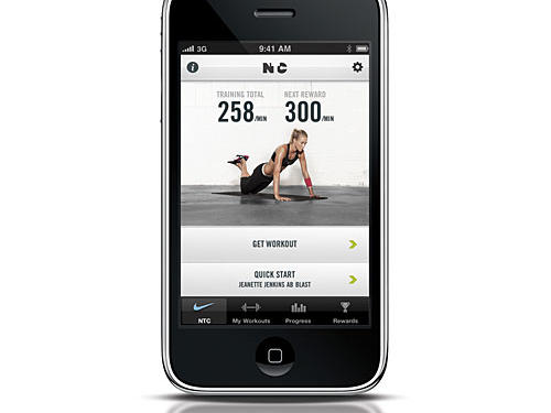 2. Nike Training Club app (It's free; go to iTunes App Store)Why we like it: Nike's new training app for the iPhone and iPod Touch has more than 90+ drill workouts for getting lean, toned, and strong—specifically for women. All you do is select your fitness goal and fitness level, then the app chooses the best selection of 15-minute, 30-minute, or 45-minute workouts for you to pick from (each designed by a Nike professional trainer). The app offers step-by-step instructions that anyone can follow and lets you listen to songs from your music library and hear the instructor at the same time. But best of all: the more you exercise, the more you unlock rewards, such as additional expert advice, celebrity workout regimes, and body-boosting nutritional recipes.