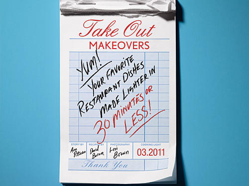 30-Minute Takeout Makeovers