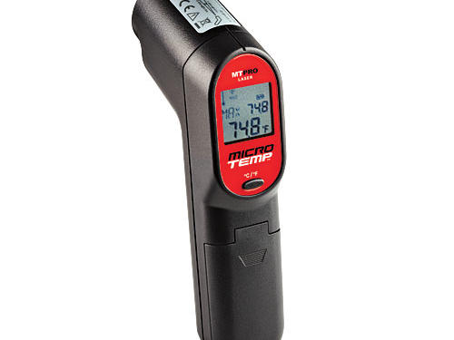 Essential Broiling Tools: MicroTemp MT-PRO Digital Infrared Thermometer