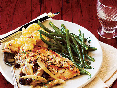 Chicken with Italian Sweet-Sour Fennel Recipes