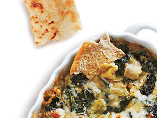 Artichoke, Spinach, and White Bean Dip recipe