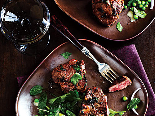 Chermoula-Marinated Lamb Loin Chops