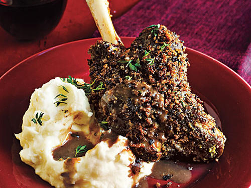 Slow-Roasted Lamb Shanks Recipe
