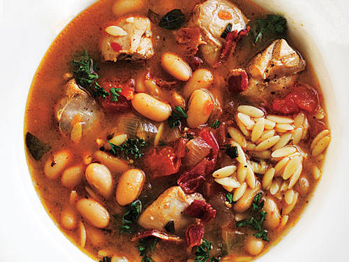 Chicken and White Bean Soup Comfort Food Recipe