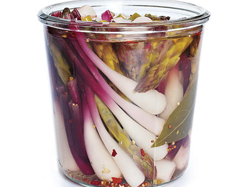 Pickled Ramps and Asparagus