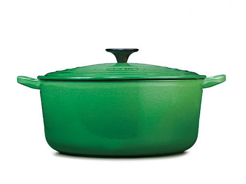 LeCreuset's going all Fiesta ware on us with another new hue for their classic cast-iron line: fennel.Price: $249.95/5.5-quart French ovenShop: Sur La Table